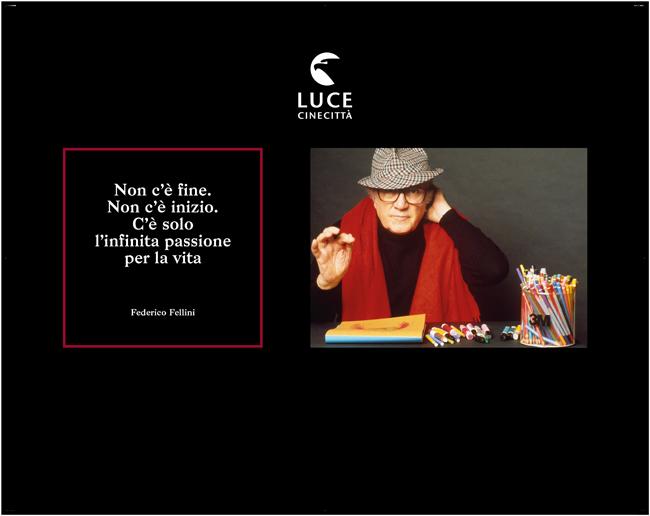 Hub Cinecittà Federico Fellini Foto Archivio storico Luce Fondo Pino Settanni