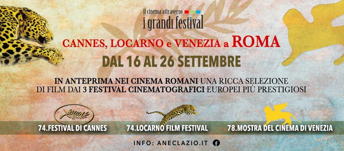 I Grandi Festival a Roma dal 16 al 26 Settembre!
